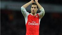 Cứ dùng Flamini trên sân nhà ở Premier League, Arsenal sẽ bất bại!