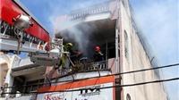 CHÙM ẢNH: Chữa cháy nhà cao tầng ở Lạng Sơn