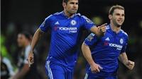 Chelsea 2-2 Watford: Diego Costa lập cú đúp trong ngày Guus Hiddink trở lại