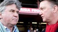 Hiddink và Van Gaal: Cuộc đối đầu của hai phong cách