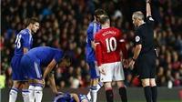 Cựu trọng tài Graham Poll: Rooney đáng bị đuổi sau pha phạm lỗi thô bạo với Oscar