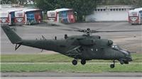 Trực thăng chở tướng quân đội Venezuela rơi ở biên giới Colombia