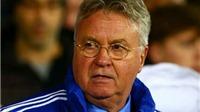 Guus Hiddink lo lắng Chelsea có thể XUỐNG HẠNG