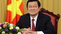 Thông điệp năm mới 2016 của Chủ tịch nước Trương Tấn Sang