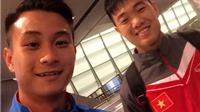 Từ Qatar, tuyển thủ U23 Việt Nam gửi lời chúc năm mới đến người hâm mộ