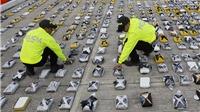 Colombia tịch thu 1,1 tấn cocaine giấu trên 4 tàu cao tốc
