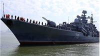 CHÙM ẢNH: Cận cảnh sức mạnh tàu khu trục Hải quân Nga thăm Đà Nẵng