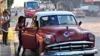Và Cuba đã sẵn sàng từ những chiếc xe cổ Mỹ