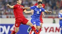 BXH FIFA tháng 1/2016: Việt Nam tăng 1 bậc, Thái Lan tăng 12