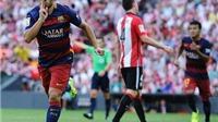 Barca gặp Athletic Bilbao ở Tứ kết Cúp Nhà Vua Tây Ban Nha
