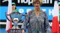 Huyền thoại Margaret Court: 'Quần vợt nữ nhàm chán vì các tay vợt ít lên lưới'