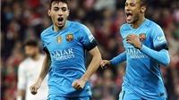 Athletic Bilbao 1-2 Barca: Không Messi và Suarez, Barca vẫn giành chiến thắng