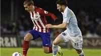 Celta Vigo 0-0 Atletico Madrid: Nỗi thất vọng hàng công