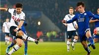 Leicester 0-2 Tottenham: Son Heung-min tỏa sáng, Tottenham giành vé đi tiếp