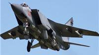Máy bay chiến đấu MIG-31 của Nga rơi ở Siberia
