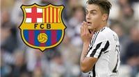 CẬP NHẬT tin tối 26/1: Dybala bật đèn xanh cho Barca. Sir Alex được 'đặc cách' vào FIFA