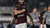 Alessandra 0-1 Milan: Balotelli lập công, Milan đặt một chân vào chung kết Coppa Italia