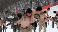 Lính Mỹ - Hàn cởi trần tập trận chung dưới thời tiết -20 độ C