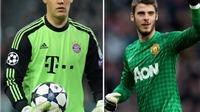 CẬP NHẬT tin tối 31/1: 'De Gea còn kém xa Neuer'. Sợ CĐV Man United, Van Gaal thuê vệ sĩ riêng