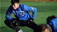 Từ Hàn Quốc, Xuân Trường gửi lời chúc Tết đến gia đình