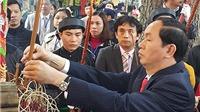 Đại tướng Trần Đại Quang dâng hương các bậc tiên hiền tại Hoàng thành Thăng Long