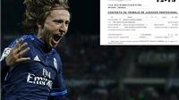 TIẾT LỘ: Modric có phí giải phóng hợp đồng trị giá... 387 triệu bảng