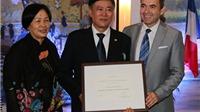 Nguyên Giám đốc Thư viện Quốc gia được tặng Huân chương Văn học và Nghệ thuật của Pháp