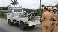 Tàu hỏa đâm xe máy, một người tử vong