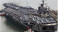 Tàu sân bay hạt nhân USS John C. Stennis của Mỹ tới Hàn Quốc tập trận
