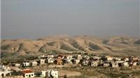 Israel chiếm nhiều vùng đất rộng lớn ở Bờ Tây