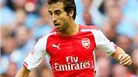 CĐV Arsenal bàng hoàng vì Wenger cho Flamini, Iwobi đá chính trước Barca
