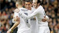 Real Madrid 4-0 Sevilla: Barca chú ý, BBC đã trở lại!