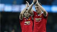 Man United nhận hung tin về Bastian Schweinsteiger