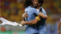 Brazil 2-2 Uruguay: Cavani và Suarez khiến Brazil đánh rơi chiến thắng