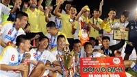 Hà Nội T&T đăng quang tại VCK U19 quốc gia 2016