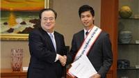 Công Phượng trở thành Đại sứ giao lưu ở Nhật Bản