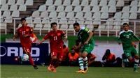 Điểm nhấn Iraq 1-0 Việt Nam: Thất bại nhưng tinh thần thi đấu đáng khen ngợi