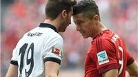 Bayern Munich 1-0 Frankfurt: Ribery lập siêu phẩm, Bayern duy trì khoảng cách an toàn vơi Dortmund