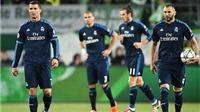 Wolfsburg 2-0 Real Madrid: BBC tịt ngòi, Real Madrid thua sốc trên đất Đức