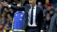 Zidane: 'Bị Wolfsburg loại không nằm trong suy nghĩ của Real Madrid'