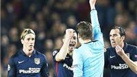 Fernando Torres vẫn cay cú thẻ đỏ phải nhận trước Barca ở Champions League