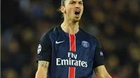 Ibrahimovic nổi đóa với HLV sau khi PSG bị loại khỏi Champions League