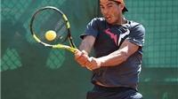 Rafael Nadal biểu diễn kỹ năng... bóng đá tại Monte Carlo Masters