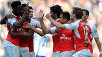 Arsenal 1-1 Crystal Palace: 'Pháo thủ' tụt xuống thứ 4, chỉ còn hơn M.U 4 điểm
