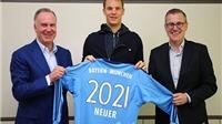 CẬP NHẬT tin tối 21/4: Neuer CHÍNH THỨC gia hạn hợp đồng với Bayern. Oezil, Sanchez cam kết tương lai cùng Arsenal