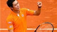 Kei Nishikori lọt vào chung kết Barcelona Mở rộng