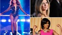 Tóc Jennifer Aniston, đùi Beyonce... những phần cơ thể siêu đẹp 'cộp mác' các sao hạng A