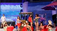Thí sinh Hoa khôi Áo dài 2016 diễn bikini đốt cháy khán phòng