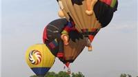 Elly Trần 'bay lên trời', khai mạc ngày hội khinh khí cầu quốc tế