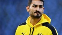 Tổn thất cho tuyển Đức: Guendogan lỡ hẹn với EURO 2016